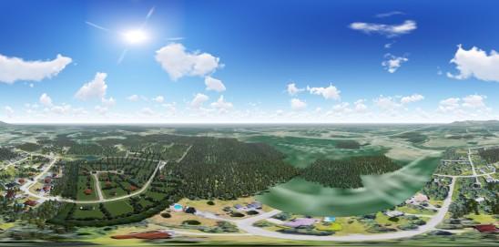 Villa des cerfs 360°